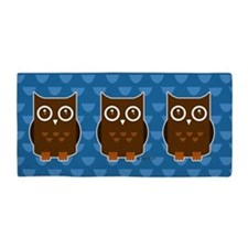 Owls Beach Towel