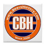 BearsHistory.com Tile Coaster