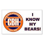 BearsHistory.com Rectangle Sticker