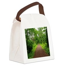 Trail in the Woods Canvas Lunch Bag