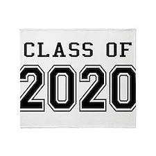 Class of 2020 Throw Blanket
