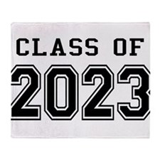 Class of 2023 Throw Blanket