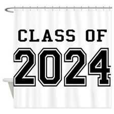 Class of 2024 Shower Curtain