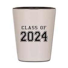 Class of 2024 Shot Glass