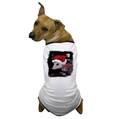 Possum Santa Dog T-Shirt