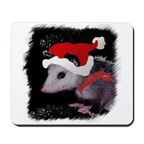 Possum Santa Mousepad