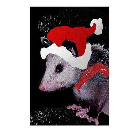 Possum Santa Postcards (Package of 8)