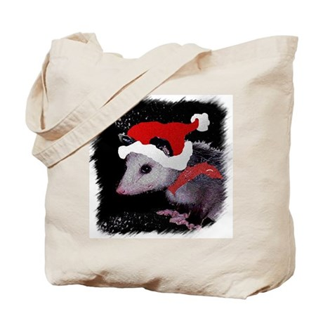 Possum Santa Tote Bag
