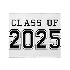 Class of 2024 Throw Blanket