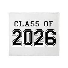 Class of 2026 Throw Blanket