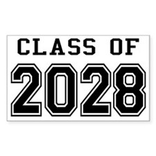 Class of 2028 Decal