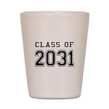Class of 2031 Shot Glass