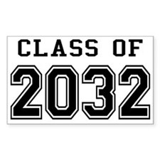 Class of 2032 Decal