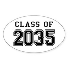 Class of 2035 Decal