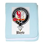 Boyle Clan Badge Crest baby blanket