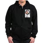 Boyle Clan Badge Crest Zip Hoodie (dark)