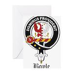 Boyle Clan Badge Crest Greeting Card