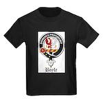 Boyle Clan Badge Crest Kids Dark T-Shirt