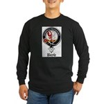 Boyle Clan Badge Crest Long Sleeve Dark T-Shirt