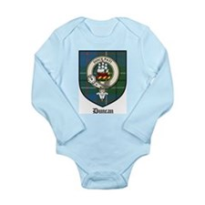 Duncan Clan Crest Tartan Long Sleeve Infant Bodysu
