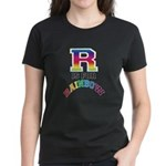 R is for Rainbow Women's Dark T-Shirt