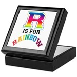 R is for Rainbow Keepsake Box