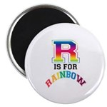 R is for Rainbow Magnet