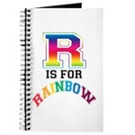R is for Rainbow Journal