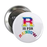 R is for Rainbow Button
