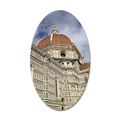 The Duomo 35x21 Oval Wall Decal