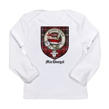 MacDougal Clan Crest Tartan Long Sleeve Infant T-S