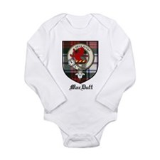 MacDuff Clan Crest Tartan Long Sleeve Infant Bodys