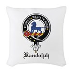Randolph.jpg Woven Throw Pillow