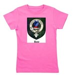 Rose Clan Crest Tartan Girl's Tee