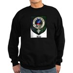 Rose Clan Crest Tartan Sweatshirt (dark)