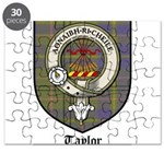 Taylor Clan Crest Tartan Puzzle