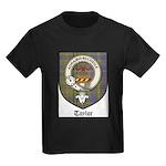 Taylor Clan Crest Tartan Kids Dark T-Shirt