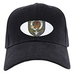 Taylor Clan Crest Tartan Black Cap