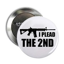 "I Plead The 2nd 2.25"" Button"