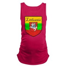 Lithuania-transp.png Maternity Tank Top