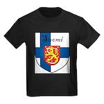 SuomiShield.jpg Kids Dark T-Shirt