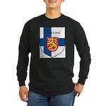 SuomiShield.jpg Long Sleeve Dark T-Shirt