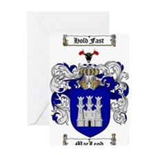 MacLeod Coat of Arms Greeting Card