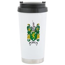 Malone Family Crest Ceramic Travel Mug