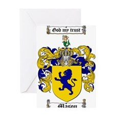 Mason Family Crest Greeting Card