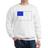 Christian Flag Sweatshirt