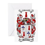 McCracken Family Crest Greeting Cards (Pk of 20)