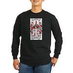McCracken Family Crest Long Sleeve Dark T-Shirt