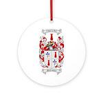 McCracken Family Crest Ornament (Round)
