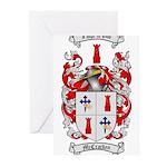 McCracken Family Crest Greeting Cards (Pk of 10)
